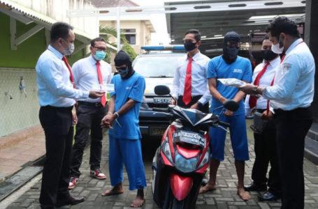 Kurang dari 24 Jam, Dua Pelaku Curanmor Tertangkap