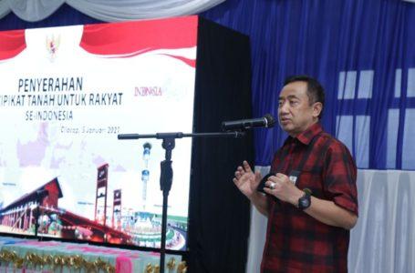 26.000 Sertipikat Program PTSL Siap Diserahkan