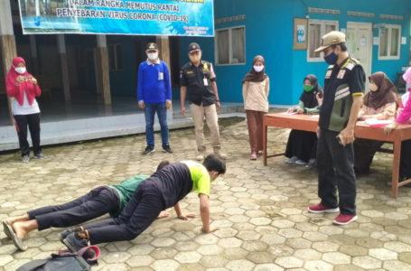 55 Warga Terjaring Operasi Prokes di Cimanggu