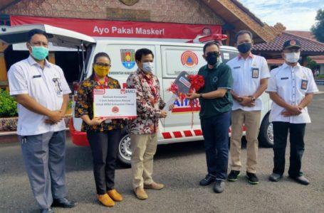 Pemkab Cilacap Kembali Terima Bantuan Ambulance Untuk Masyarakat
