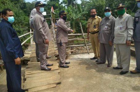 Jembatan Cigintung terkendala Status Tanah Mangkrak Tujuh Tahun