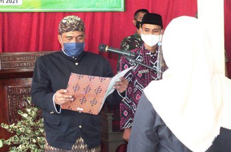 Kepala Desa Bantar Lantik Kasi Pemerintahan