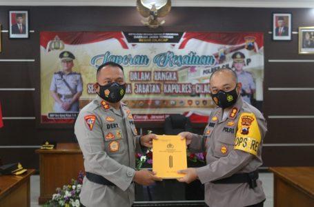 AKBP Leganek Mawardi Resmi Pimpin Polres Cilacap