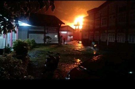 Gedung UPTD Logam Purbalingga Terbakar, Satu Tewas