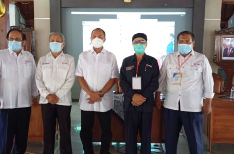 Sadewo Terpilih jadi Ketua PMI Kabupaten Banyumas