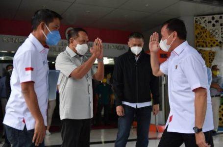 Lampu Hijau Liga Indonesia, Ketum PSSI bersama Dirut PT Liga Temui Menpora