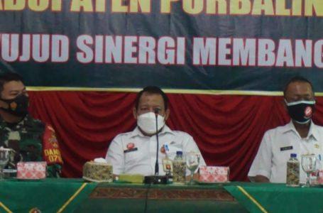 Rakornis TMMD Reguler Kabupaten Purbalingga Digelar