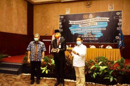 Gubernur Himbau Kepala Daerah Dukung Program Pendidikan Wartawan