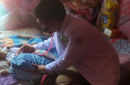 Dokter RSI Banjarnegara Datangi Penderita Hidrocefalus