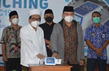 Bupati Banyumas Launching 'GeNose' Ponpes At Taujieh Al Islamy 2