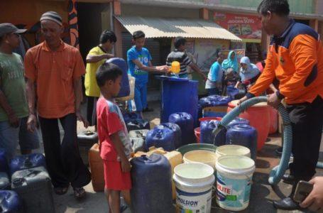 BPBD Cilacap Siapkan 200 Tangki Air Bersih Antisipasi Kekeringan