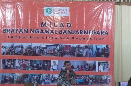 Milad Brayan Ngamal Banjarnegara, Relawan Harus Inovatif dan Solutif
