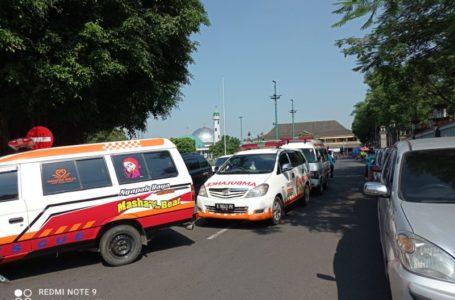 Relawan Bencana, TNI Polri dan BPBD Konvoi Kesiap Siagaan Bencana.