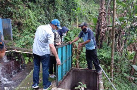 Tim Kejari Purwokerto Tinjau Aset PDAM di Desa Gandatapa