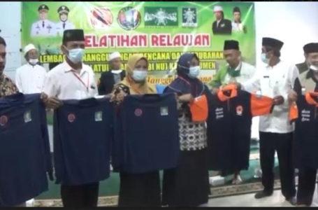 Relawan LPBI NU Gelar Pelatihan Tanggap Bencana