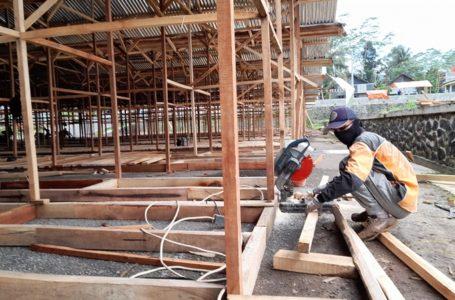 Pasar Darurat Banjarnegara Segera Ditempati, Ditarget Sebelum Awal Puasa