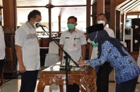92 ASN Pemkab Cilacap Tempati Jabatan Baru