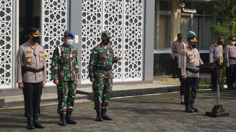 600 Personel Polresta Banyumas Diterjunkan Untuk Pengamanan Idul Fitri