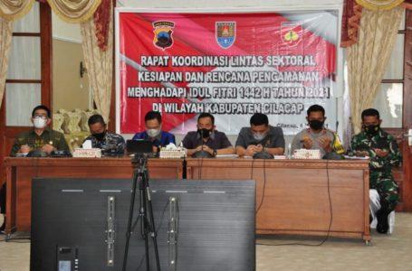 Persiapan Idul Fitri, Pemkab Cilacap Gelar Rakor Lintas Sektoral