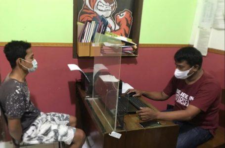 Bobol Konter HP di Moro Mall, AS Ditangkap Satuan Reskrim Polresta Banyumas
