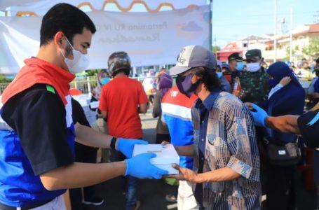 Selama Ramadhan 1442 H Pertamina Cilacap Salurkan 23 Ribu Paket Takjil