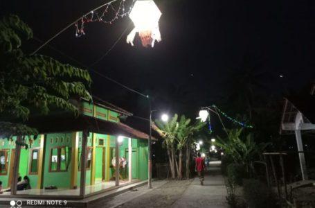Lebaran di Kampung Meriah Berhias Lampion, Silaturahmi Secara Daring