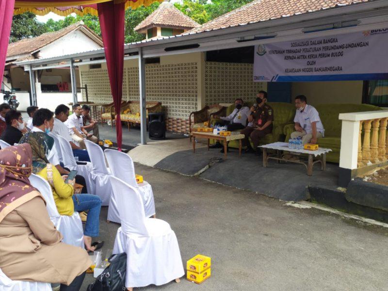 Bulog Teken MoU dengan Kejaksaan Negeri Banjarnegara