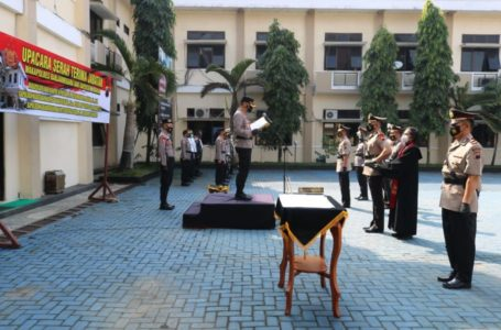 Wakapolres dan Dua Kapolsek di Banjarnegara Dirotasi