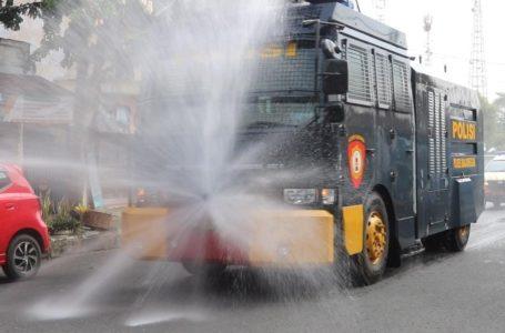 Wilayah Kota Banjarnegara Disemprot Desinfektan