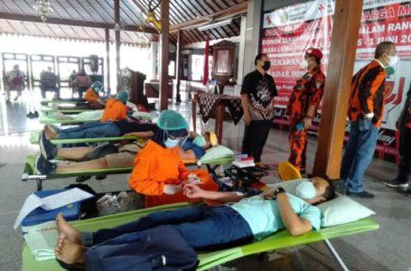 Donor Darah Pemuda Pancasila, Targetkan 300 Kantong