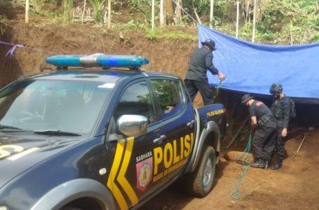 Mortir Temuan Warga Sadabumi Majenang Diledakan Jihandak Brimob