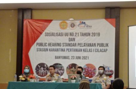 Badan Karantina Gelar Public Hearing dan Sosialisasi UU no 21 Tahun 2019