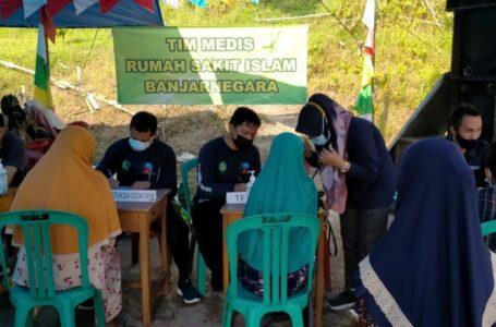 Peringati Hari Lahir Pancasila, Komunitas Ngopi dan RSI Gelar Pengobatan Gratis