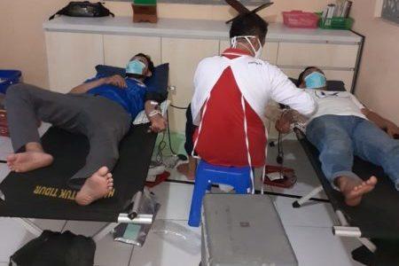Takmir Masjid Al Muhajirin Gandeng PMI Gelar Donor Darah