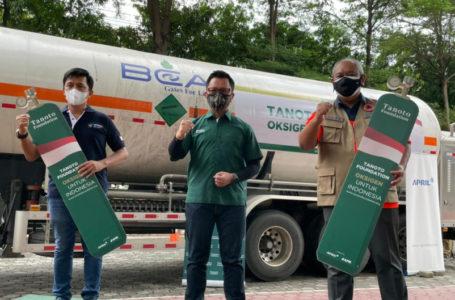 Tanoto Foundation Donasi 500 Ton Oksigen