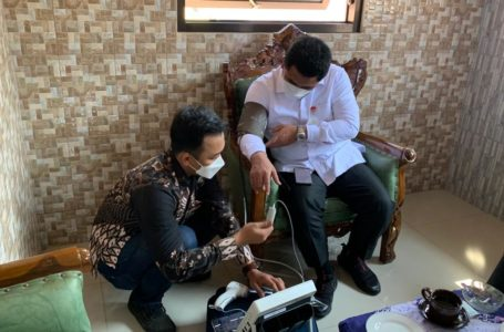 Taj Yasin dan Bupati Syamsudin Siap Dorong Digitalisasi Kesehatan