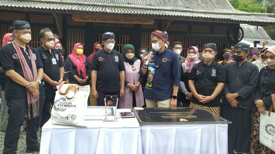 Anugerah Desa Wisata Cikakak Disambut Antusias